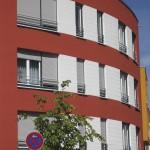Neubaufassade Köln, Heinrich Bützler Str. / Kapellenstr.